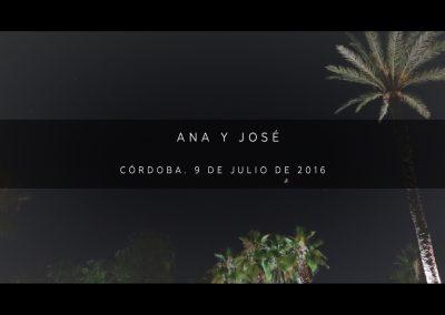 Ana y José