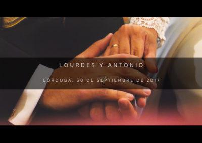 Lourdes y Antonio