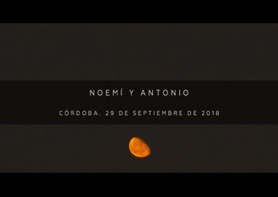 Noemi y Antonio